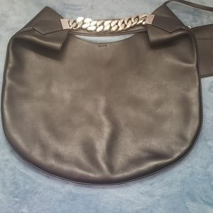 Givenchy Infinity Chain Hobo Bag Black